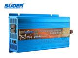 Invertitore puro di potere dell'invertitore 12V 220V di energia solare dell'invertitore 1500W di potere di onda di seno di Suoer con CE&RoHS (FPC-1500A)