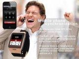 Bluetooth mobile Uhr ruft intelligente Telefon-Uhr LG128 Screen-BT-3.0 mit Fernsteuerungskamera an