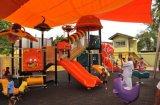 (Caratterizzato!) Campo da gioco per bambini esterni di piccola serie futuristica di Kaiqi - adattamento disponibile (KQ10081A)