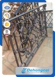 Красивейшие перила обеспеченностью ковки чугуна Resisdential (dhrailings-9)