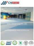 Plancher durable et simple de couleur de construction, étage en caoutchouc sans joint