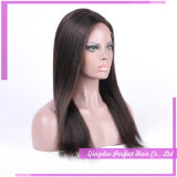 Peluca llena superior de seda del cordón del pelo humano del superventas el 100%