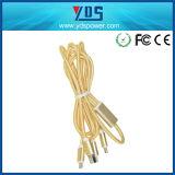 Câble mâle du câble de caractéristiques du téléphone mobile USB USB2.0 pour iPhone6
