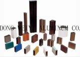 El material de construcción del perfil de aluminio/sacó los perfiles de aluminio
