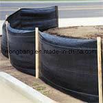 Estera tejida plástico negro del control de Weed del geotextil