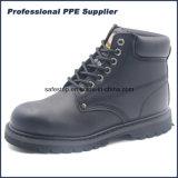 Zapatos de trabajo de la seguridad del verdugón de Goodyear del cuero genuino