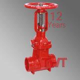 Válvula de controle da válvula de controle de proteção contra incêndio