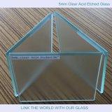 Fenster ausgeglichene Glass&Tempered Glastür mit Säure ätzte Glas mit Ce&CCC