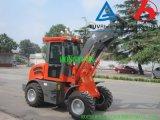 セリウムの農場の使用の農業機械が付いているZl10f 4WDの車輪のローダー
