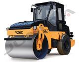 Venta caliente de Junma compresor vibratorio del suelo del solo tambor de 6 toneladas (YZ6C)
