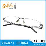 Form Halb-Randlose TitanEyewear Brille-Glas-optischer Rahmen (8213)