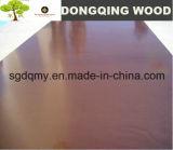 el negro de 18m m/la película de Brown hizo frente a la madera contrachapada impermeable con insignia