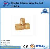 Vávula de bola de cobre amarillo de la salida de China de la fabricación rápida del surtidor 1 - el 1/2 con de calidad superior