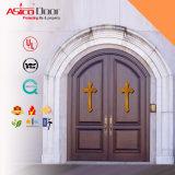 Kirche-festes Holz-/Bauholz-Tür mit Arten-Typen