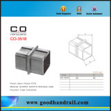 Square acero inoxidable Tubo Conector (CO-3518)