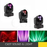 effetto LED 4 del fascio 3X15W in 1 indicatore luminoso mobile della testa LED