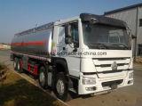 Carro de petrolero pesado del combustible de Sinotruk HOWO 8X4 35m3 de la capacidad