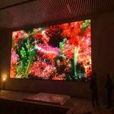 Visualización de LED a todo color de interior del vídeo P2.5 para hacer publicidad de la pantalla