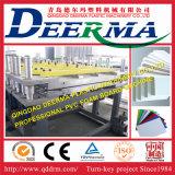 Chaîne de production de panneau de mousse de croûte de PVC de la qualité WPC