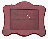 Рамка фотоего корабля искусствоа грецкого ореха Semi-Glossy деревянная/стола изображения с стеклянным окном