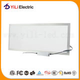 Luz del panel cuadrada ultra fina de acrílico de la plata LED de la cubierta