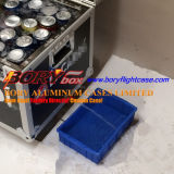 Völlig Insulated Beer Cooler Box Flight Fall auf Wheels
