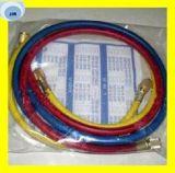 Boyau en caoutchouc flexible réfrigérant Three-Color avec des garnitures sur les les deux extrémités