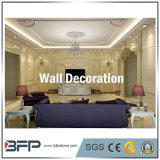 Columna de mármol pilar elegante de mármol para la decoración de la pared