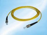 2.0mm PVC 광학적인 FC-FC 섬유 잠바 Sm 단순한 광섬유 접속 코드