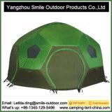 10 Personen-großer grosser Kabinendach-Fußball-kampierendes Abdeckung-rundes Zelt
