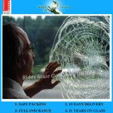 стекло 3-19mm прокатанное, стекло противопульного стеклянного цены Tempered с AS/NZS2208: 1996