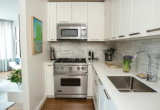 Het Australische Meubilair van de Keuken van de Stijl Moderne (door-l-105)