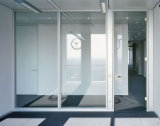 Glaspartition-Systeme/Büro-Glaswand