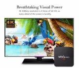 Cadre d'Amlogic S905 TV de l'androïde 4.4.2 du faisceau 1g+8g Mxq de quarte PRO