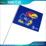Bandeiras Comum mão, bandeira de poliéster, bandeira de papel, entregue a bandeira de plástico (NF01F02016)