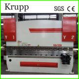 Máquina de dobra We67k-125/3200 do ferro de ângulo do CNC