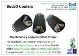 Novo MR16 Fiting LED Cooler para Xicato LED Modules para substituir MR16