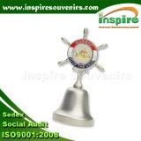 ギフトのためのFlaggenの紡績工が付いている金属鐘
