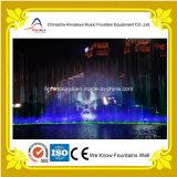 Muziek-gesynchroniseerde Fontein met het water-Scherm Laser en Projectie