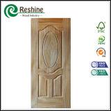 Естественная кожа двери Veneer HDF отлитая в форму MDF