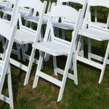 Con la silla de plegamiento de Wimbledon