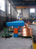 Oxigênio Free Copper Rod Continuous que up-Casting Line & Cold Rolling Mill