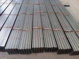 Quadratisches Stahlverkehrssicherheit-Zeichen-unterstützender Pfosten