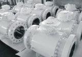 La pipe à haute pression a modifié le robinet à tournant sphérique en acier