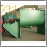 Mezclador de concreto horizontales dobles de la cinta de material de construcción en polvo