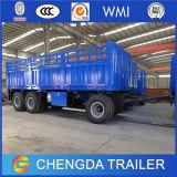 China 3 Volledige Aanhangwagen van de Lading van Assen Flatbed met Assen BPW