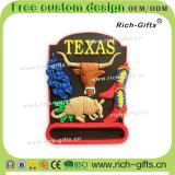 Ricordo promozionale personalizzato il Texas (RC-US) dei magneti del frigorifero del magnete della decorazione dei regali