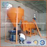 Almofariz seco do pó que faz a máquina