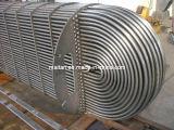 ASTM B338/ASME Sb338 Gr 2の熱交換器の純粋なチタニウムUのくねりの管