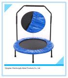 Trampolín del círculo con la barandilla para la aptitud